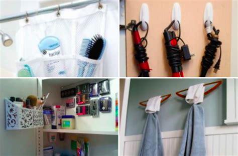 16 astuces de rangement pour les petites salles de bain des id 233 es