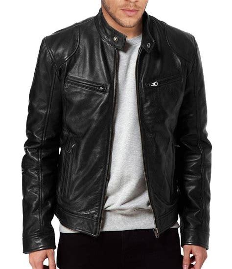 real leather jackets mens men s sword genuine lambskin black leather biker jacket zed leather wear co