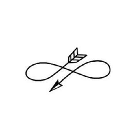 infinity arrow symbol temporary tattoo set of 2 polyvore