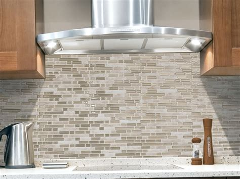 backsplash sticky tiles peel and stick glass tile backsplash no grout home