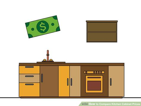 kitchen cabinet price how to compare kitchen cabinet prices 13 steps with