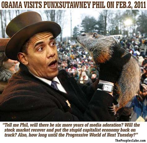 Caption Contest Obama On Groundhog Day