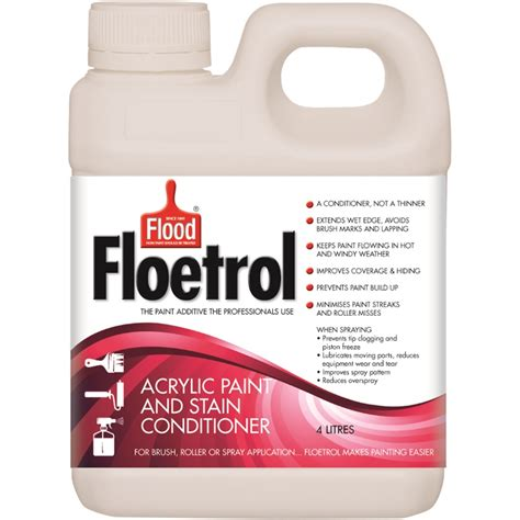 acrylic paint additives flood 4l floetrol acrylic paint and stain conditioner