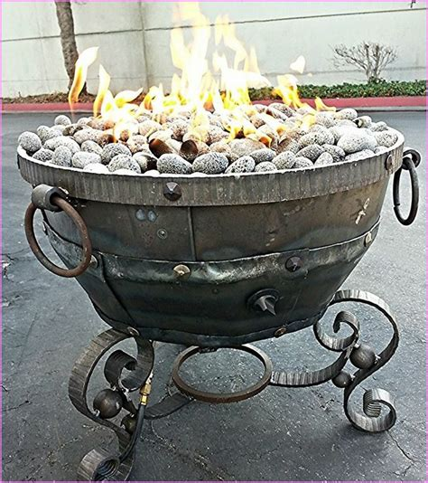 propane outdoor firepit outdoor pit propane home design ideas