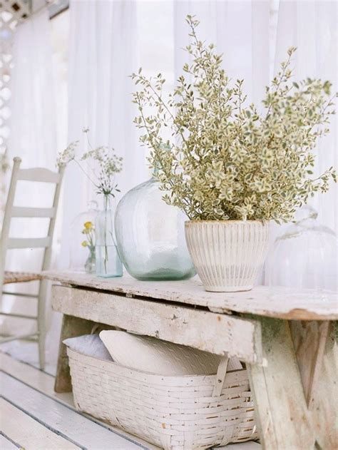 shabby chic coastal decor 38 adorable white washed furniture pieces for shabby chic
