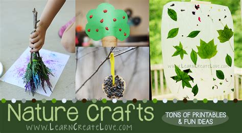nature crafts for nature crafts