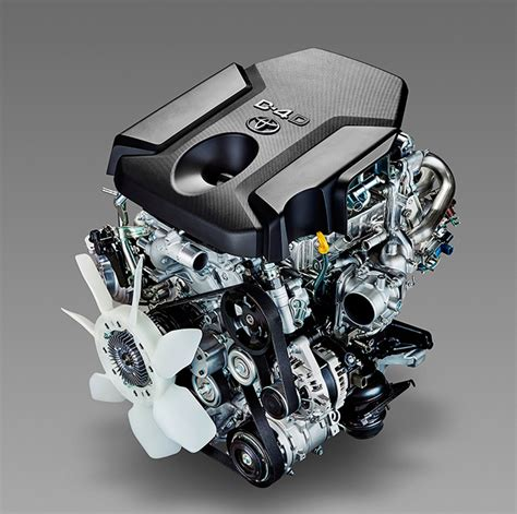 Toyota Diesel Engines by Toyota S Reved Turbo Diesel Engines Offer More Torque