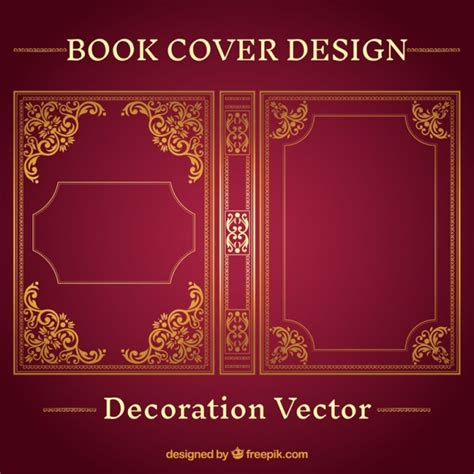 free pictures for book covers ornamental book cover design vector free