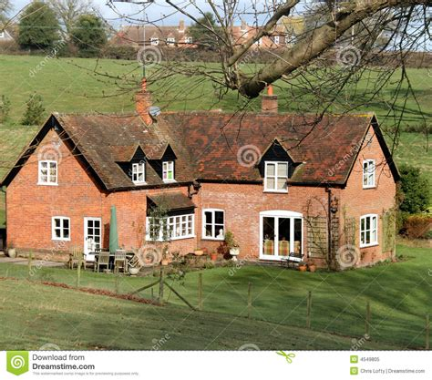 Traditional Country House Plans red brick english rural house royalty free stock photo