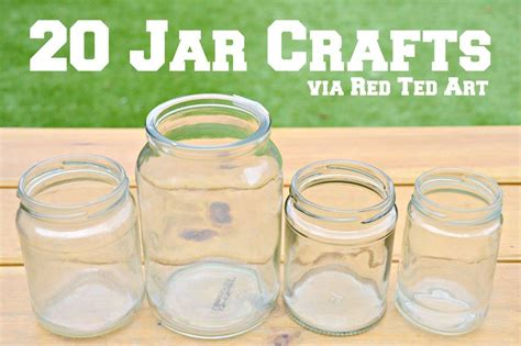 craft projects with jars how to remove sticky labels from glass jars ted