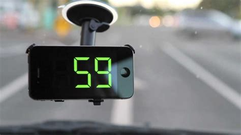 Car Apps For An Iphone by Speedglow Speedometer App For Iphone