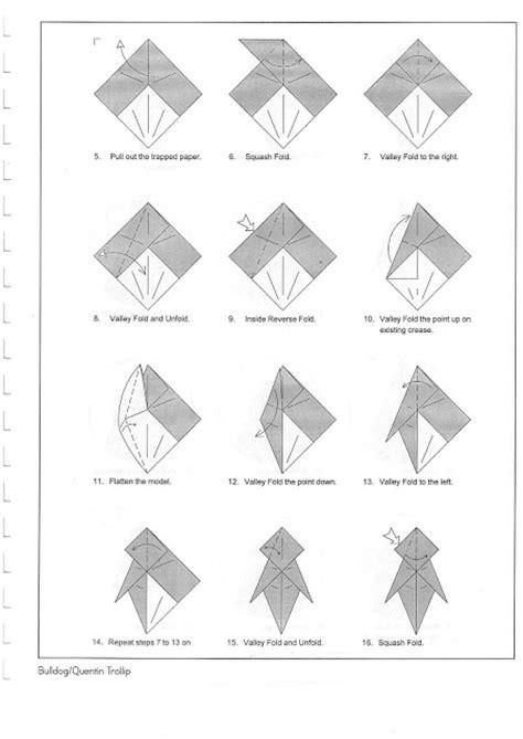 origami bulldog origami bulldog make origami easy