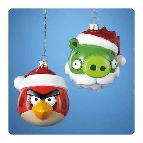 angry bird ornaments angry birds glass ornaments wikizio
