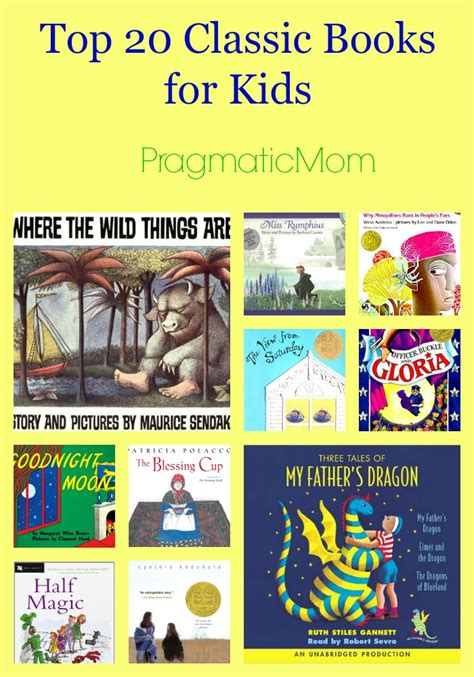 picture books for top 20 classic books for pragmaticmom