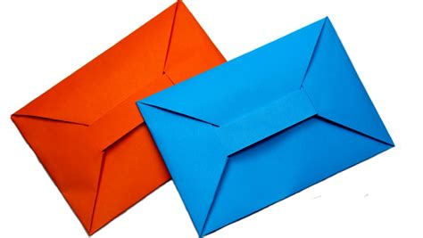 origami simple envelope diy easy origami envelope tutorial