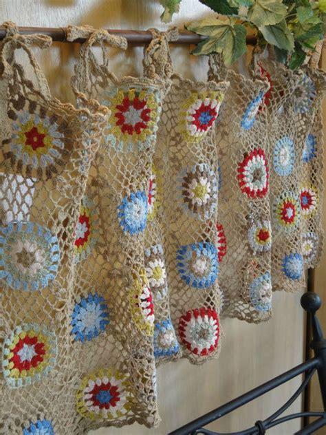 crochet kitchen curtains crochet kitchen curtain http lomets