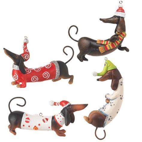 dachshund ornaments new raz imports dachshund pyramid tree