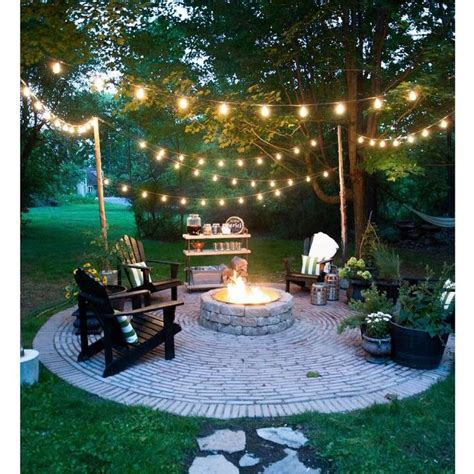 patio light ideas 25 best ideas about backyard string lights on