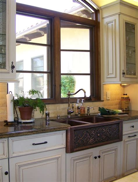 kitchen bath designer copper farmhouse sink design