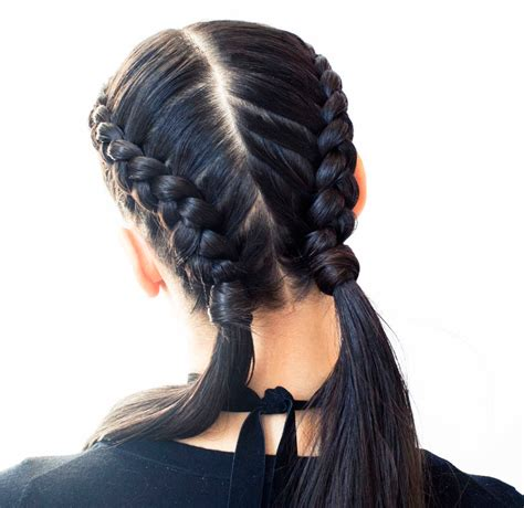 braids with the boxer braid aka braid a how to coveteur