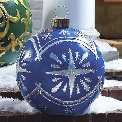 outdoor ornament outdoor lighted ornaments the green