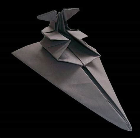 origami space ship wars spaceship origami martin hunt 9 123 inspiration