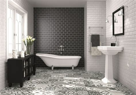 Black And White Bathroom Tile Ideas by Bathroom Tiles And Bathroom Ideas 70 Cool Ideas Which