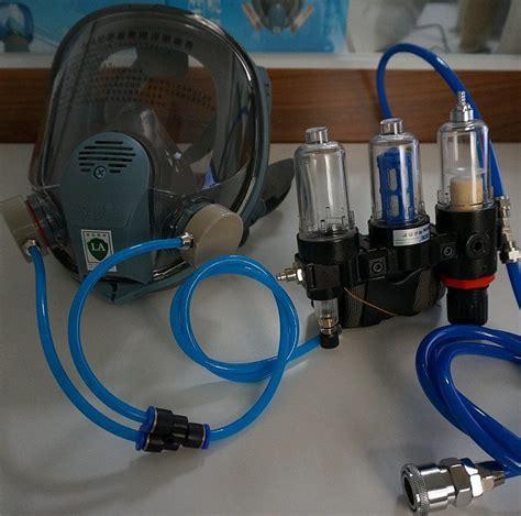 spray painting respirator fresh air fed visor breathing mask supplied kit