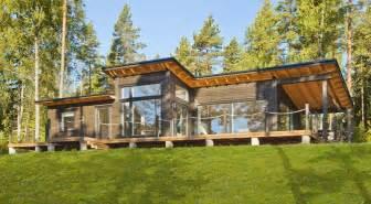 mod 232 les et plans de la maison bois viherlaasko kontio aquitaine midi pyr 233 n 233 es