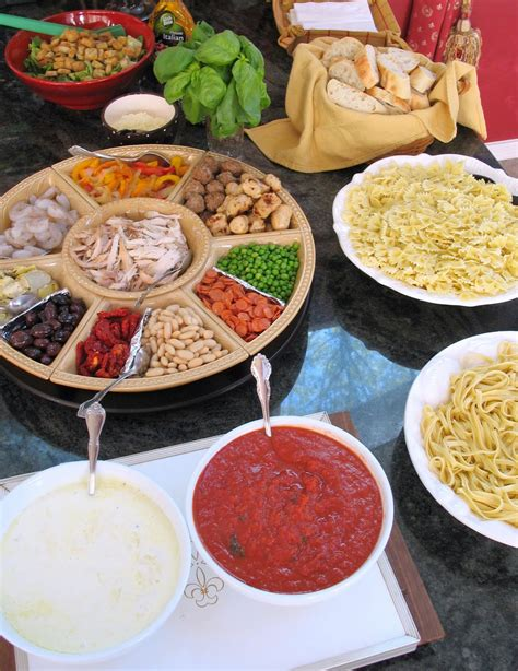 pasta bar how to host your own pasta bar big kitchen a