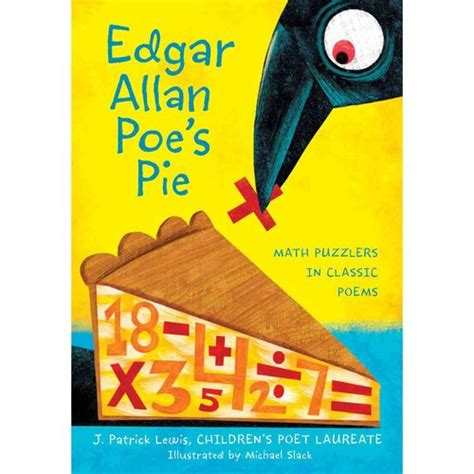 picture pie book edgar allan poe s pie math puzzlers in classic poems