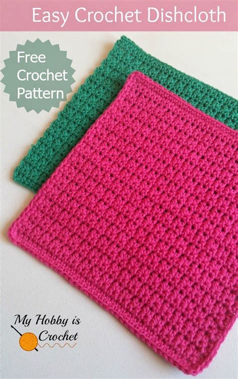 is knitting easier than crochet 25 best ideas about crochet dishcloth patterns on