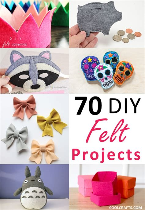 crafts made with felt craft projects 70 diy ideas made with felt cool crafts