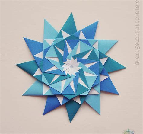 four pointed origami origami 12 pointed origami tutorials