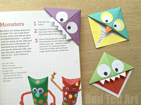 origami bookmark corner bookmarks and owls ted s