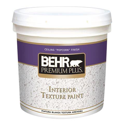 home depot paint textures behr premium plus 2 gal popcorn flat interior texture