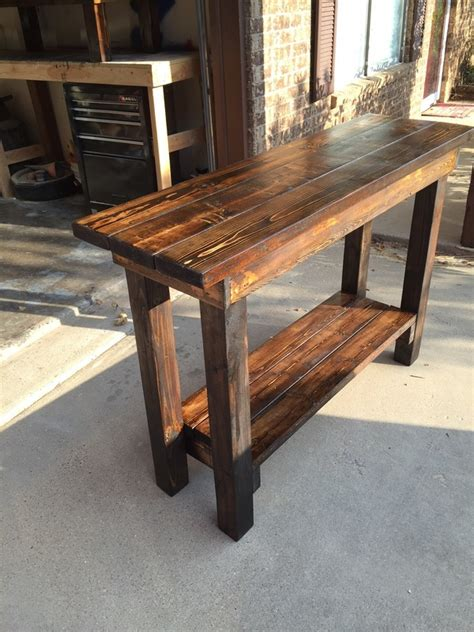 how to build a sofa table sofa how to build a sofa table diy sofa table with outlet
