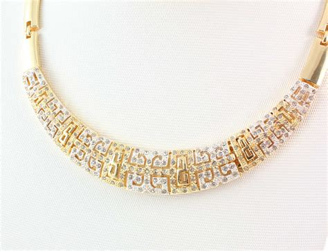 how to make gold plated jewelry costume gold necklace fashion rhinestone gold