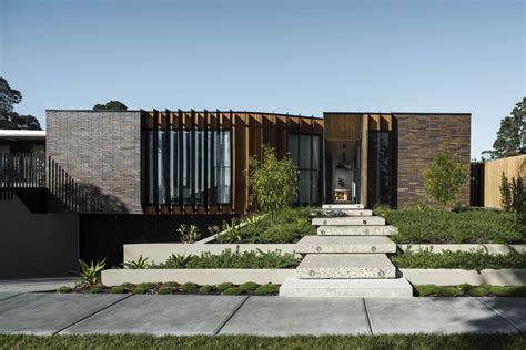 architecture house design courtyard house by figr architecture design in templestowe australia