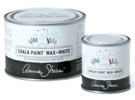 chalk paint white wax ladybutterbug