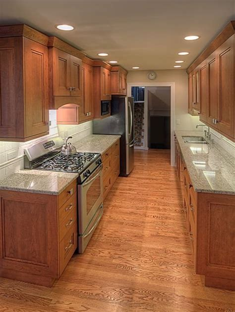 kitchen galley design ideas wide galley kitchen home design ideas pictures remodel and decor