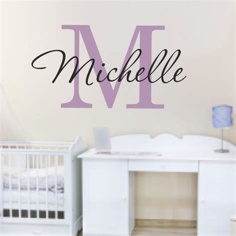 name stickers for wall name wall stickers for your in decors