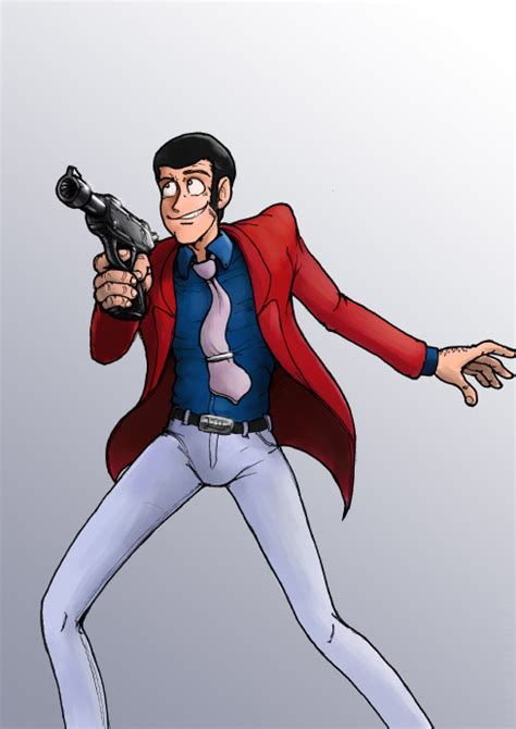 lupin the third lupin the third by botmaster2005 on deviantart