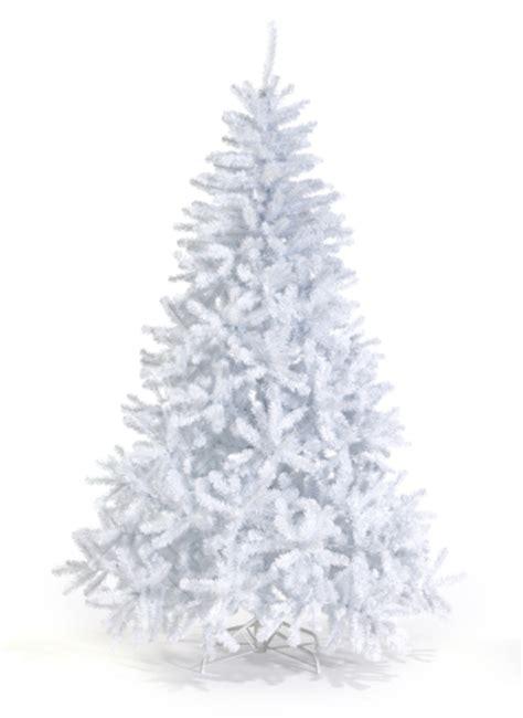 white artificial trees spruce white tree king of