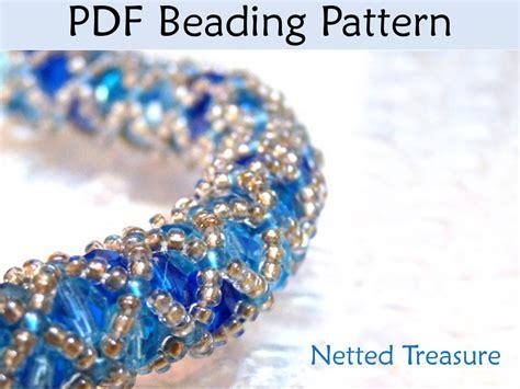 beading stitches beading pattern tutorial bracelet necklace tubular