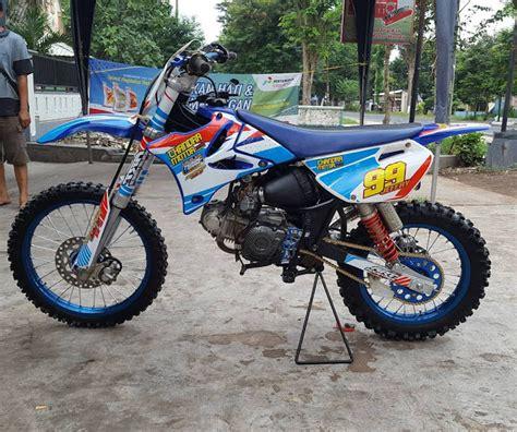 Gambar Motor Rakitan by Desain Rangka Rakitan Motor Trail Rombakan Jupiter Z Dan