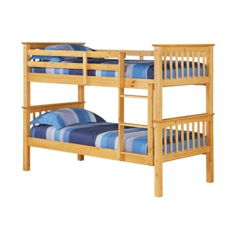 cheap bunk bed frames cheap heartlands porto pine wooden bunk bed frame for sale