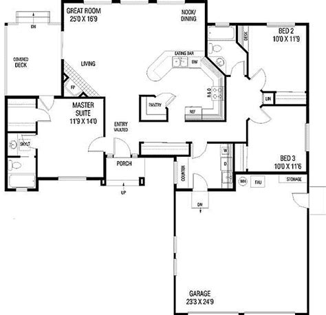 empty nest floor plans empty nester house plans smalltowndjs