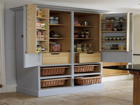 free standing kitchen pantry furniture sliding storage racks wood free standing kitchen pantry