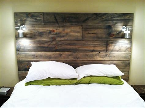 how to make a headboard out of wood cool modern rustic diy bed headboards furniture home